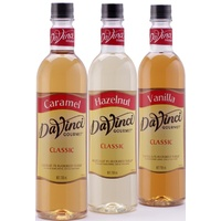 Mix your flavours Davinci Syrups 750 mL