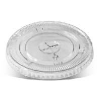 PET Cold Flat Lid (24oz) x 100