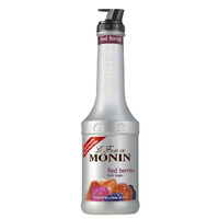 MONIN Red & Wildberry Fruit Puree 1 Litre