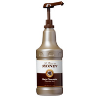 MONIN Dark Chocolate Sauce 1.89L