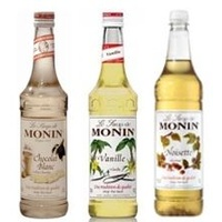 MONIN BULK BUY Mix your Syrup flavour 1Litre