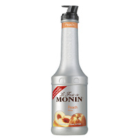 MONIN Peach Fruit Purée 1Litre