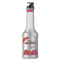 MONIN Raspberry Fruit Purée 1Litre