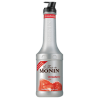 MONIN Strawberry Fruit Purée 1Litre