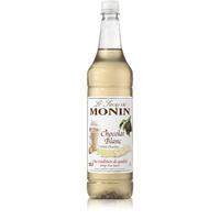 MONIN White Chocolate Syrup 1 Litre