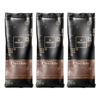 ARKADIA Drinking Chocolate 3x1kg  20% Cocoa (Cappuccino Powder)