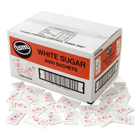 White Sugar Sachet 3g Box 2000