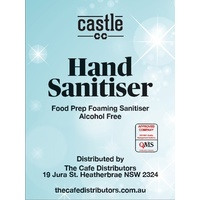 Hand Sanitiser Alcohol Free Foaming5 Litre + 2 x 200ml bottle/pump