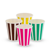 TAILORED Candy Stripe 90mm-12oz Cold Cup x1000