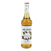 MONIN Hazelnut Syrup 700 mL Glass