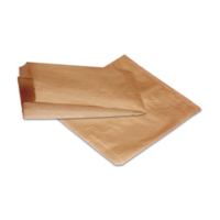 BROWN Kraft Flat Paper Bag 6FB - 335x235 mm