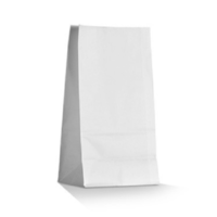 SOS WHITE Take Away Bag - Small x 2000 (150x90x270 mm)