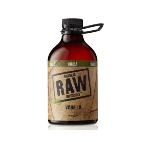 Natural RAW Infusions Vanilla Syrup 1L