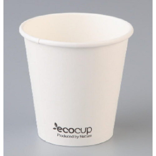 6oz X (1000) Disposable White Eco Paper Cups