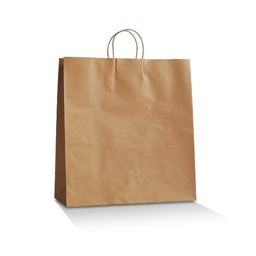 Brown Kraft Bag - Large (250 per box)