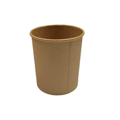 32oz SLEEVE Beta Kraft Food Container x 100