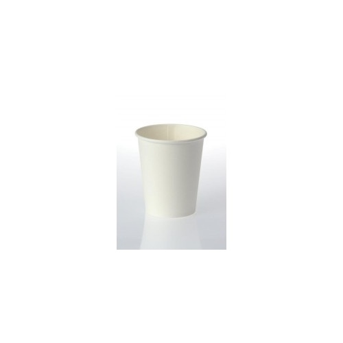 8oz X (1000) Disposable White Eco Paper Cups